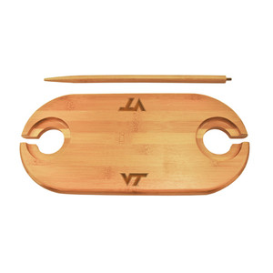 Virginia Tech Bamboo Picnic Table
