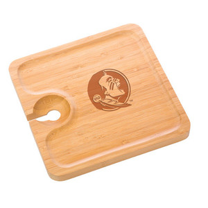 Florida State Bamboo Party Plate
