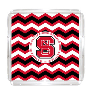 North Carolina State Lucite Tray 12x12