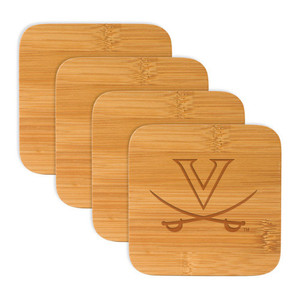Virginia Bamboo Coasters