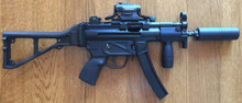 HK MP5K, Suppressed in 9mm - 50 Rounds Included