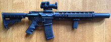 M4 Carbine, Integrally Suppressed in 300BLK - 20 Rounds Included