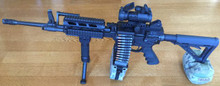 M4 Carbine With Fightlite MCR Belt-Fed Upper in 5.56mm - 40 Rounds Included