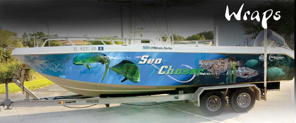 Vehicle & Boat Wraps