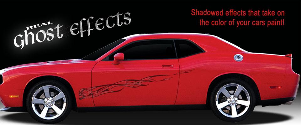 DIY Body graphics, racing stripes, rally stripes