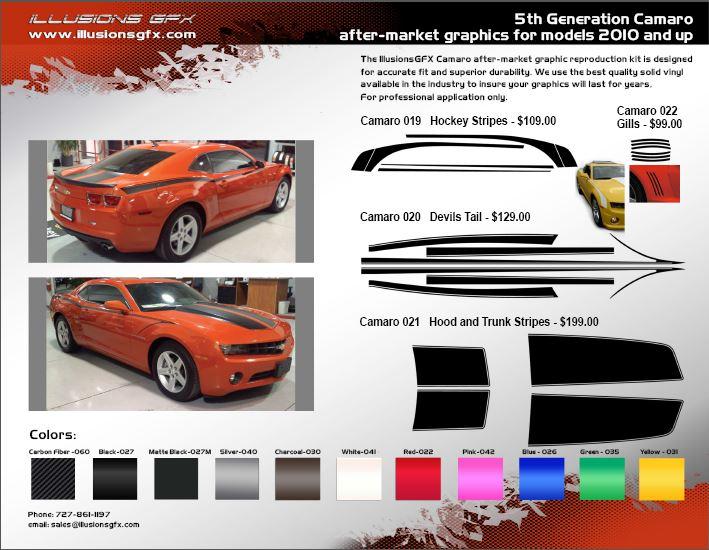 AfterMarket Custom Graphics - Auto graphics for carillusionsgfx custom automotive graphics