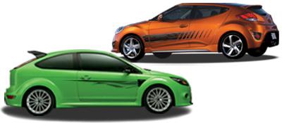 OEM Style vehicle graphics