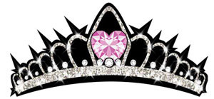 Heart Crown Decal