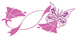 Butterfly Flower - Decal