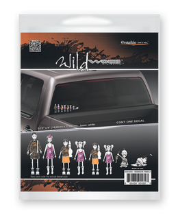 Redneck Family Decal Set