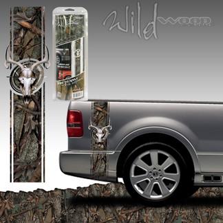 Wild Oak Skull Bed Side Rally - 7318
