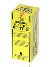 Benjamins Sulphur Bitters 8oz