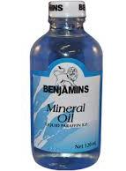 Benjamin's Mineral Oil 4oz