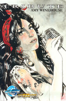 Tribute: Amy Winehouse LIMITED EDITION METALLIC COVER