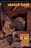 Hound Comics, Inc. Sketch Book Volume 1