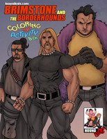Brimstone and the Borderhounds Coloring & Activity Book Vol. 1