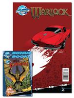 Lionsgate Presents: Warlock #2 (BONUS Flip Book/TWO books in ONE)