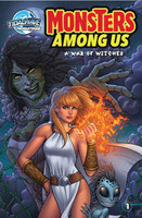 Monsters Among Us: A War of Witches  (one shot EXCLUSIVE)