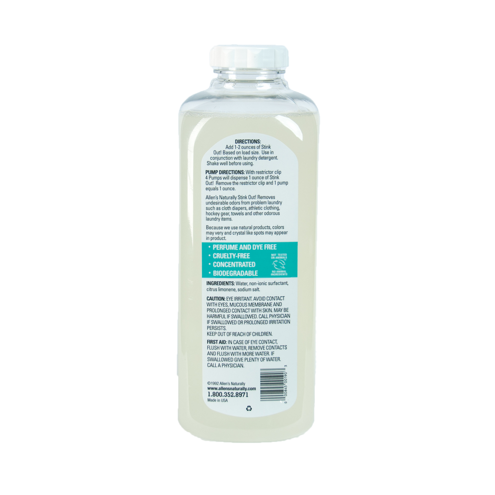 Stink Out - Natural Laundry Odor Remover