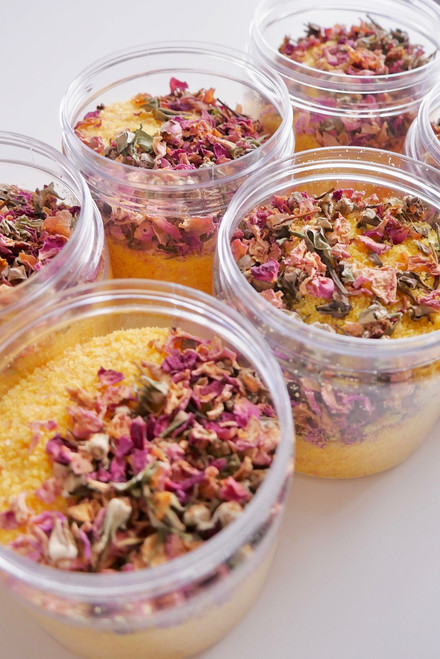 Lemon & Rose Water Bath Salts