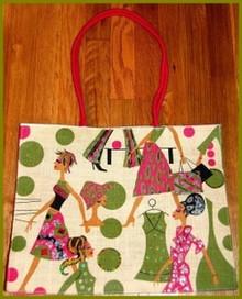 Lady Diva Jute Tote Bag