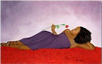 Bed of Roses Art Print - Michael Bailey