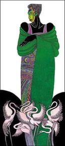 Ebony 8 (green) Limited Edition Art Print - Charles Bibbs