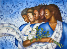 Zetarations (Zeta Phi Beta) Limited Edition Art Print - Larry Poncho Brown
