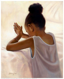 Bedtime Prayer Art Print - Sterling Brown