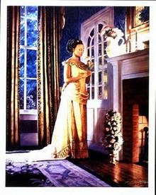 Elegant Lady I Art Print - Melinda Byers