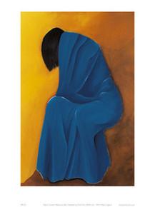 Melancholy Blue Art Print - Patrick Ciranna