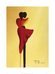 Les Amoureux (19.7 x 15.7in) Art Print - Patrick Ciranna