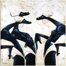 Now Listen Hea Art Print - Maurice Evans