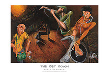 The Get Down Art Print - David Garibaldi