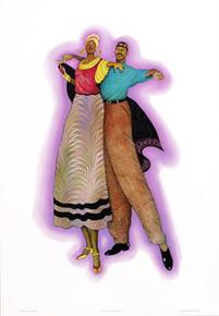 Duet (Signed) Art Print - Albert Fennell