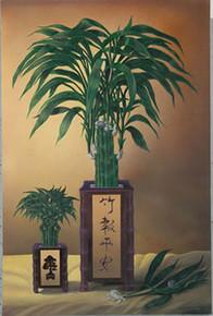 Lucky Bamboo I Art Print - David Gunter