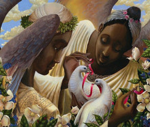 Angels of Love Limited Edition Art Print - John Holyfield
