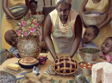 Mama's Table Limited Edition Art Print - John Holyfield