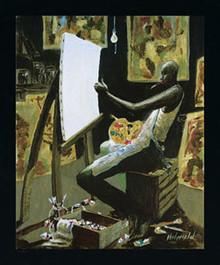 The Artist Art Print - John Holyfield