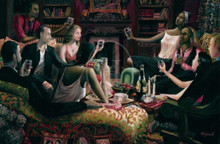 The Toast Limited Edition Art Print - John Holyfield