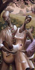The Dance Limited Edition Art Print - John Holyfield