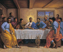 Last Supper (24 x 36in) Art Print - Sarah Jenkins