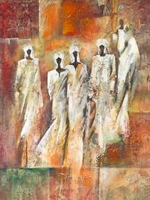 Sahara I (19 3/4 x 15 3/4) Art Print - Eduardo Jindani