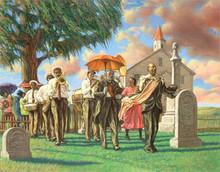 Uncle Joe's Funeral (16 x 20in) Art Print - Sarah Jenkins