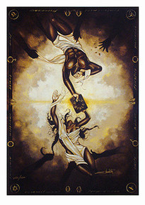 What God Has Joined Limited Edition Art Print - Edwin Lester