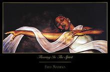 Flowing in the Spirit Art Print - Fred Mathews