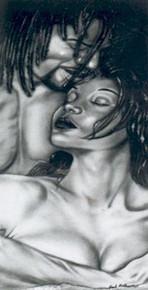 Devotion Art Print - Fred Mathews
