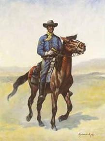 Buffalo Soldier Art Print - Hulis Mavruk