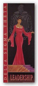 Leadership - Delta Sigma Theta Art Print - Johnny Myers