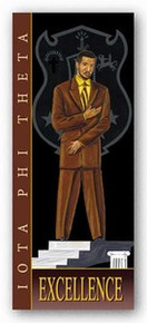 Excellence - Iota Phi Theta Art Print - Johnny Myers